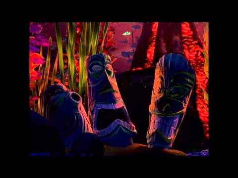 Finding Nemo Virtual Aquarium Tikis