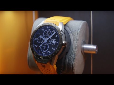 Hands-on with the $1,500 Tag Heuer Connected smartwatch