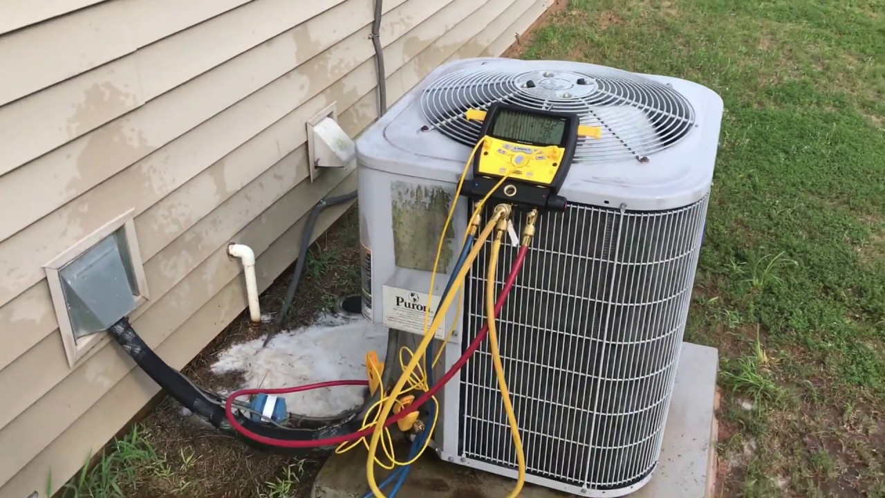 No Cooling On Carrier Ac With R410a Leaking And Dirty Coil