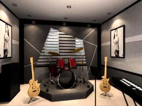 music room decorating ideas