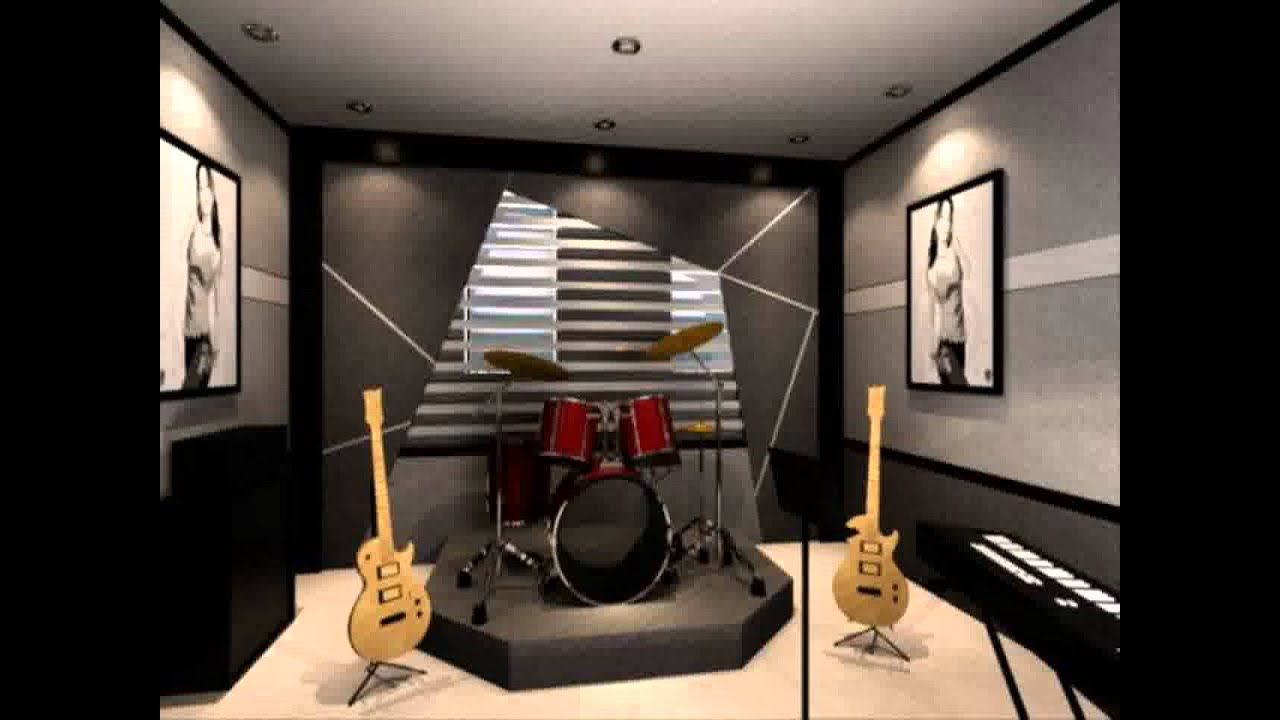 music room decorating ideas - YouTube