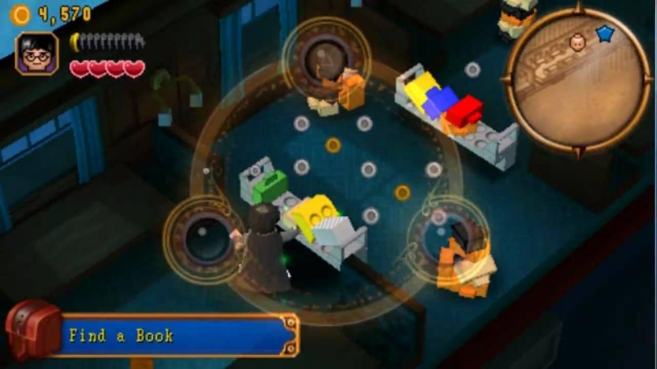 PSP - Lego Harry Potter Year 1-4 ☆The Hogwarts Express☆ - YouTube
