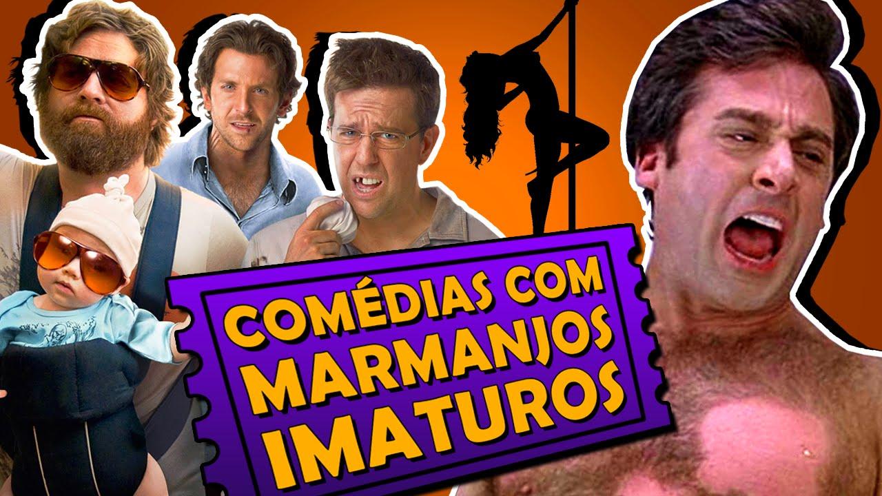 8 melhores comédias com grupos de marmanjos imaturos