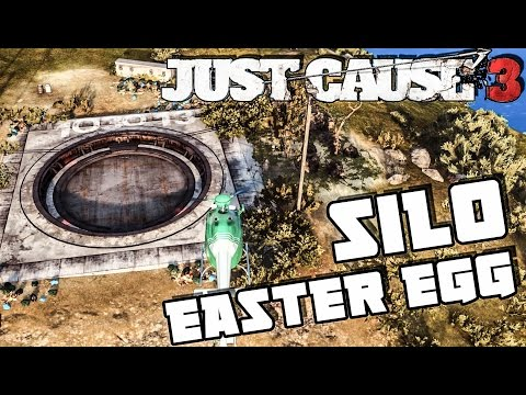 Just Cause 3: Nuclear Silo Easter Egg (103013)