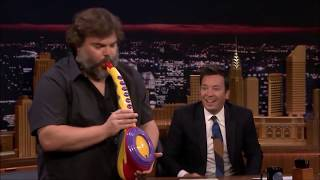Jack Black Performs Megalovania With His Legendary Sax-A-Boom