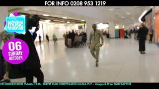 OLAMIDE BADDO ARRIVAL IN LONDON - ARE U READY FOR SUN 6TH OCT LONDON INDIGO2