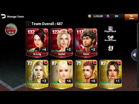 Klein Upgrade TO RED - 1.200.000 mil coins  - Ultimate Tennis -