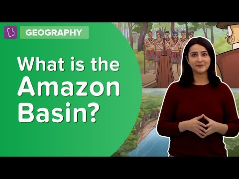What Is The Amazon Basin?   Class 6   Learn With BYJU'S