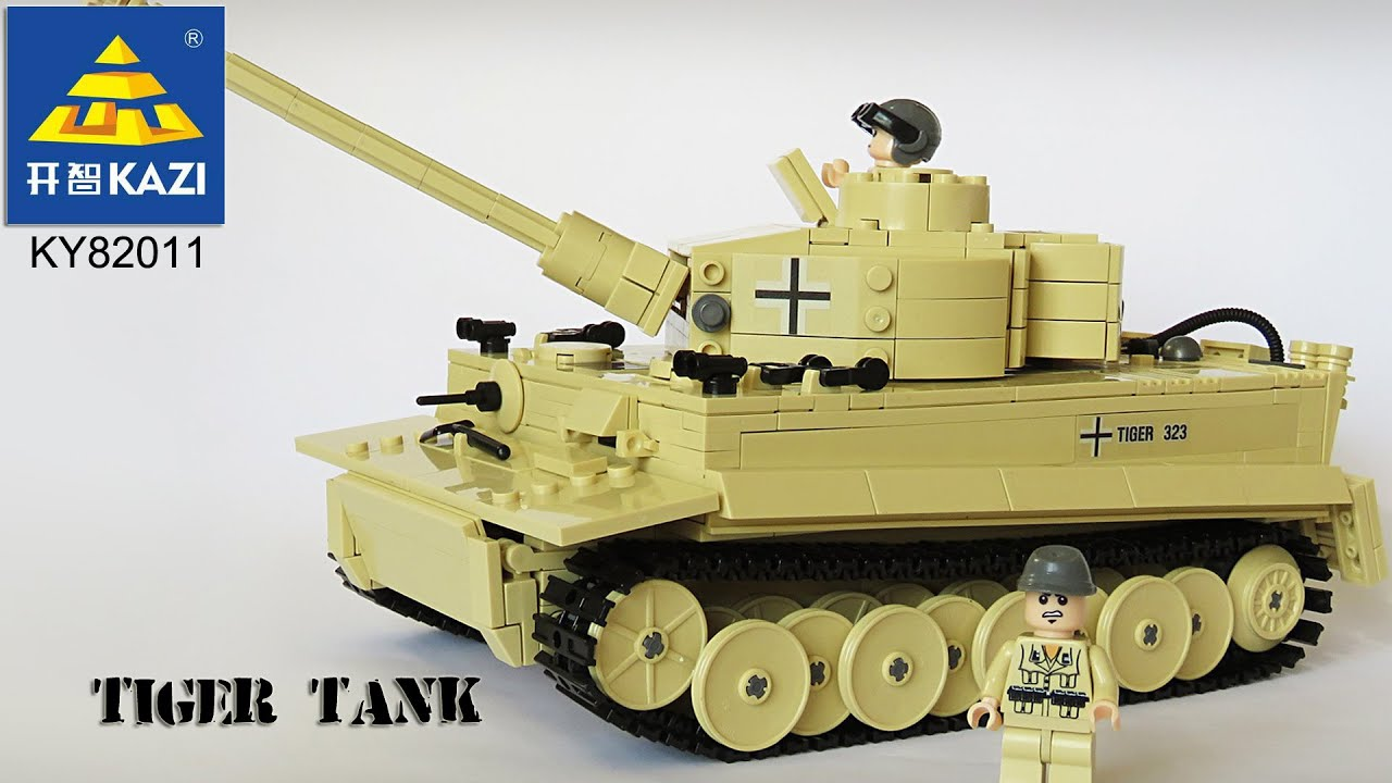 Across the battlefield Tank Scorpio Tank Clamp build a xingbao XB-06015 OVP