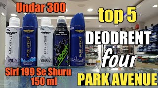top5deodorantforparkavenue top 5 deodorant for park avenue