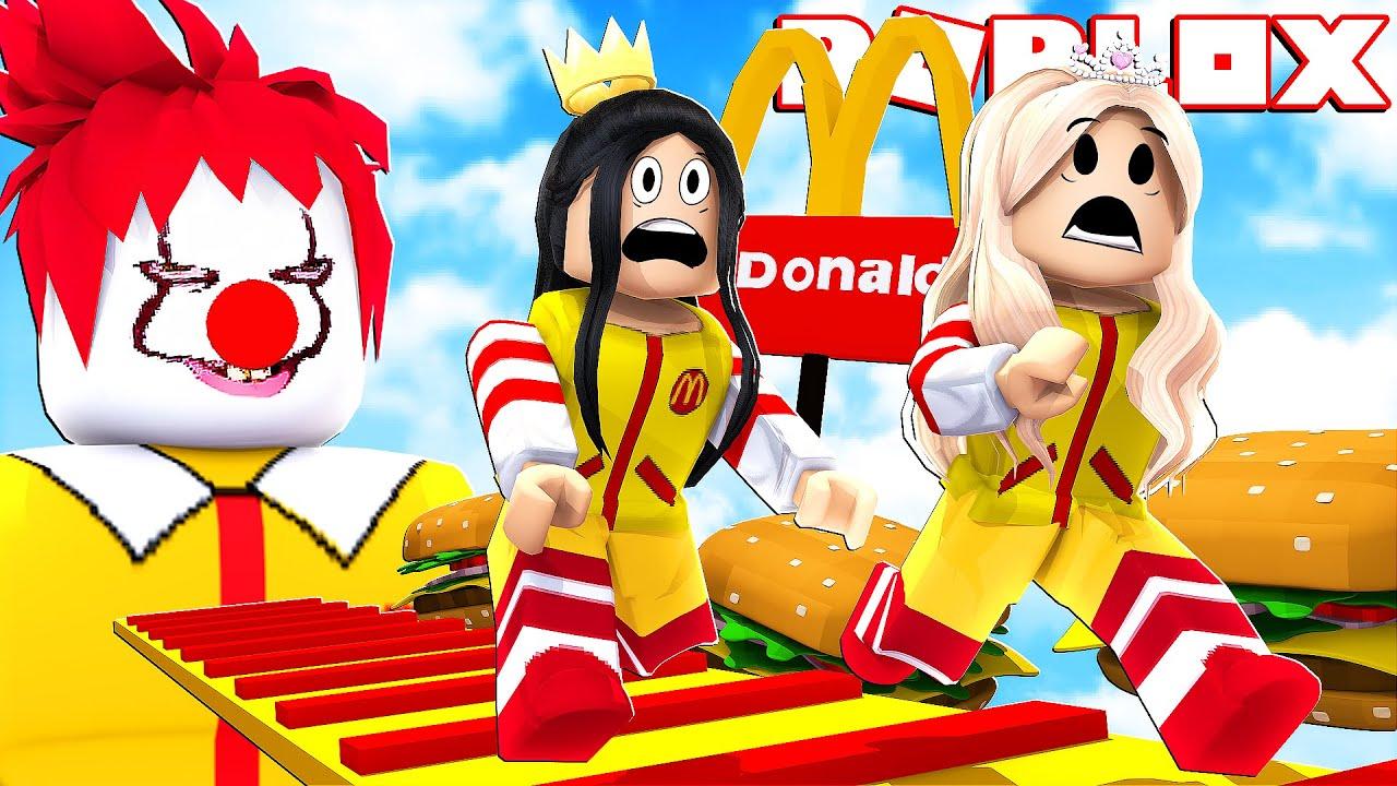 ROBLOX - ON NE VEUT PLUS TRAVAILLER ICI ! (Escape McDonalds Obby!)