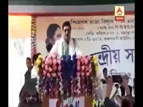 Sabyasachi Dutta speaks against West Bengal Government from meeting of Salt Lake