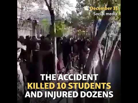 Iranian Student Protests Grow In Wake Of Deadly Bus Crash
