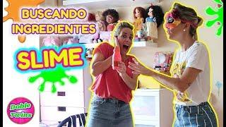 BUSCANDO INGREDIENTES PARA HACER SLIME SIN VER!! Find your Slime Ingredients Challenge!!