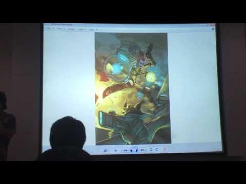 Gary Choo Digital Painting Workshop @ National Library Singapore