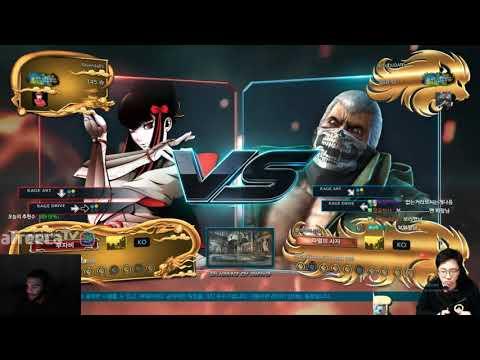 Tekken 7- Tech Stealing Knee's kazumi