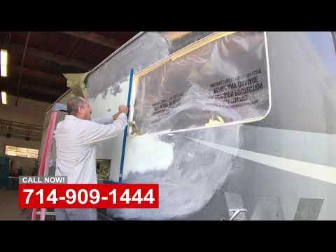 RV Body Damage Repair & Upgrades - Видео онлайн