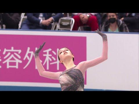 Анна Щербакова. Произвольная программа. Женщины. Командный чемпионат мира по фигурному катанию 2021