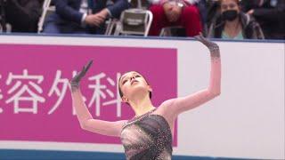 Анна Щербакова Произвольная программа Женщины Командный чемпионат мира по фигурному катанию 2021
