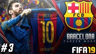FIFA 19 Barcelona Career Mode EP3 - They Activated The Release Clause?!! La Liga Begins!!