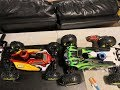 Losi 8ight and 8ight t get new tires 👍👍👍 unboxing 📦📦📦