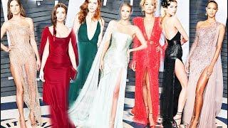 Звезды на вечеринке Vanity Fair часть 1 - Красная дорожка (Оскар 2018)