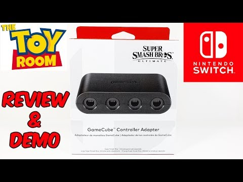 Nintendo Switch Gamecube Controller Adapter Review & Demo (Smash Bros. Ultimate)