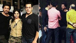 Salman & Shahrukh SPOTTED Rehearsing For Star Screen Awards 2016
