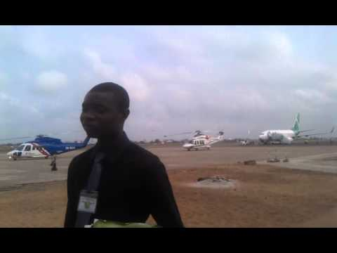 Rocks Offshore Bénin airport assistant