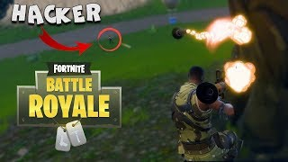 ☠️ A HACKER KILLS ME!! ☠️ FORTNITE