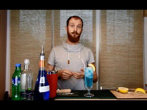 """Коктейль """"Голубая лагуна"""" - состав и рецепт домашних условиях"""