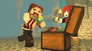 Minecraft: O FILME #18 - A VERDADEIRA BASE SECRETA?! :O (c/ Miss) | (Crazy Craft 3.0)