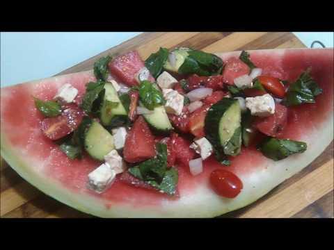 MEMORIES OF MACEDONIA ~ Лубеница салата LUBENITSA SALATA (Watermelon Salad)