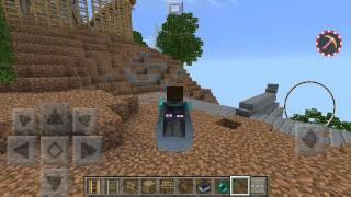 рИСУНОК НА ЭЛИТРЕ БЕЗ МОДОВ !  В Minecraft PE 1.0.0