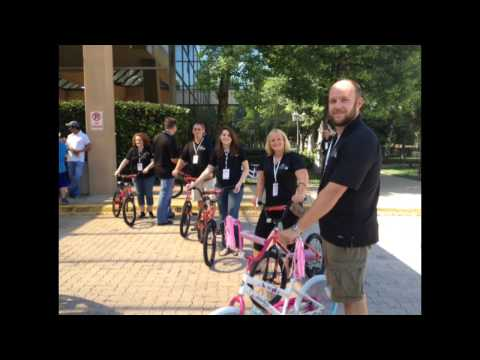 InterContinental Hotels Group bike video