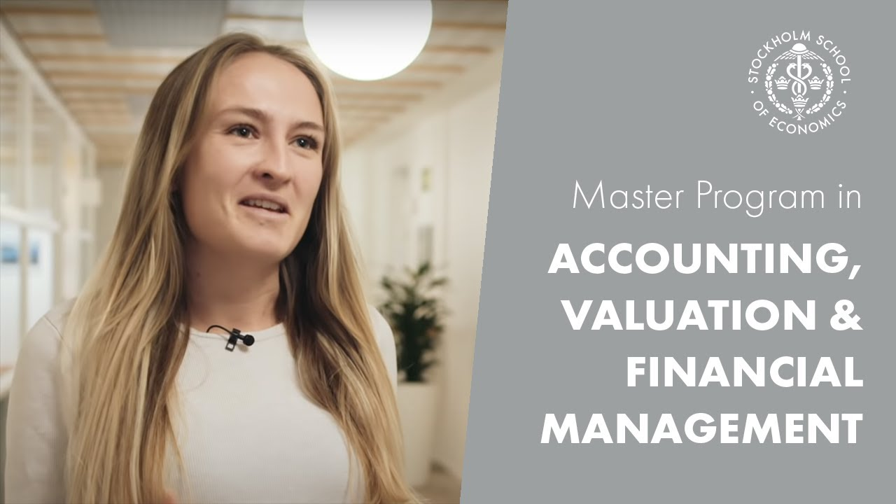 Master Program in Accounting & Financial Management