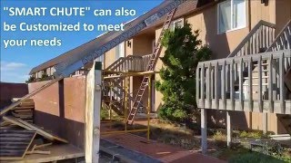 SMART CHUTE VIDEO IN USE ON COMMERCIAL PROJECT