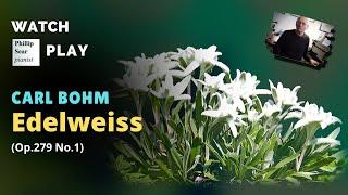 Carl Bohm : Edelweiss , Op. 279 No.1