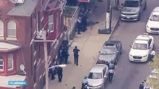 Zes agenten gewond na schietpartij Philadelphia