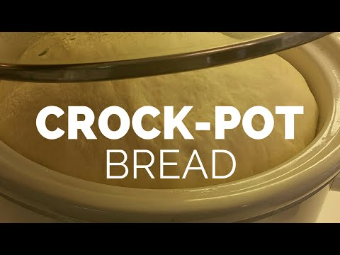 Making bread in the Crock-Pot   Vlog #9    A Purpose Driven Wife