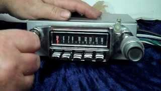 1965 Mercury Comet Cyclone AM radio conversion