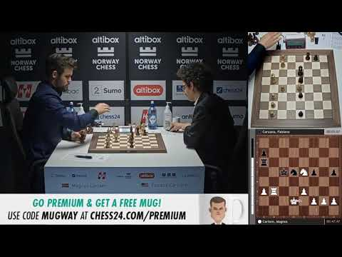 Carlsen vs Caruana | Last Moments of The Game! Norway Chess 2020