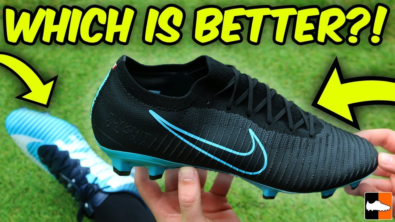 detailed look 5138d 8fb20 Flyknit Ultra vs Vapor - Which Nike Mercurial Is Better? Boot Battle