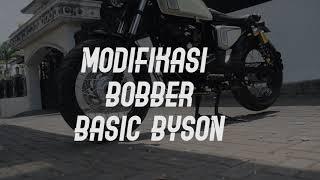 BYSON MODIFIKASI  BOBBER SIMPLE #BYSON #BOBBER #JAPSTYLE #MOTORCUSTOM