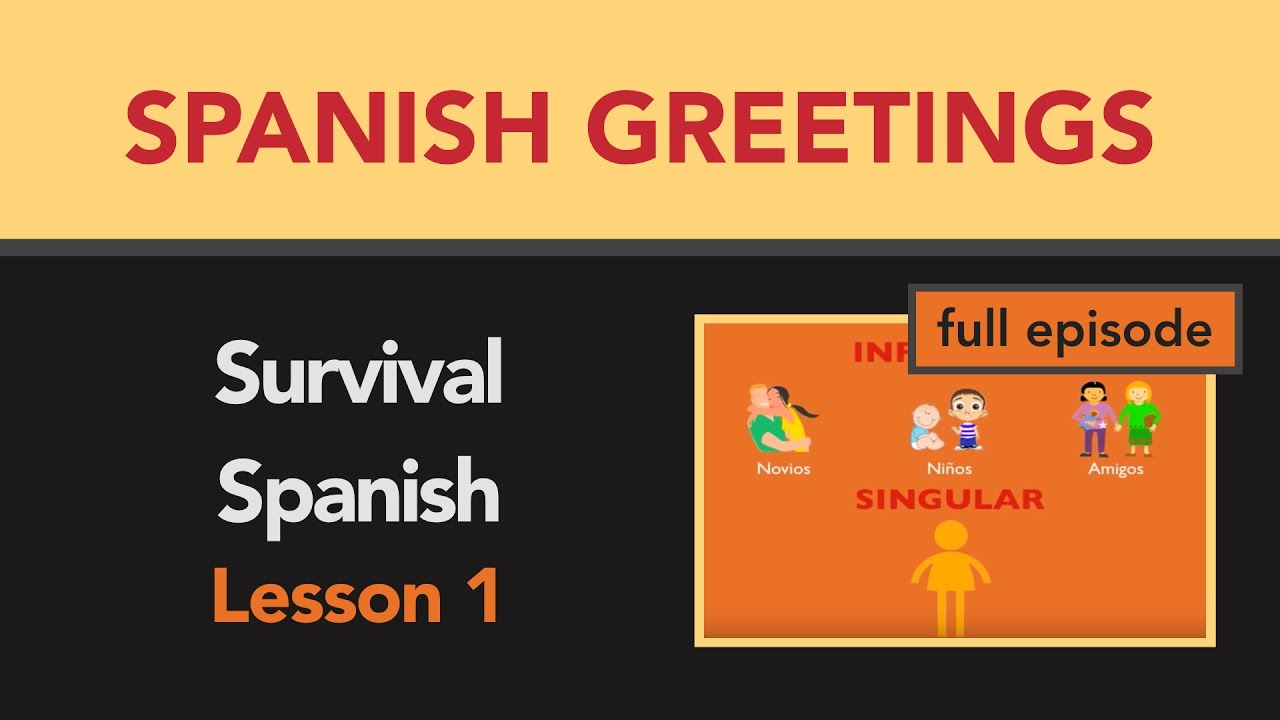 Survival spanish lesson 1 basic words greetings saying goodbye survival spanish lesson 1 basic words greetings saying goodbye m4hsunfo