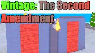 [ROBLOX: Miner's Haven] - Vintage The Second Amendment