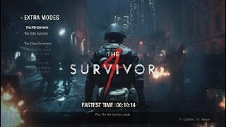 RESIDENT EVIL 2 Remake Fourth Survivor (10min 14sec)
