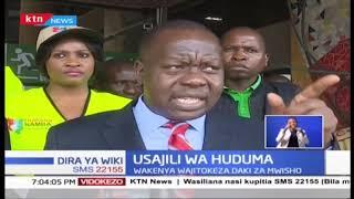 Huduma Namba: Kama ilivyo ada ya Wakenya, walimiminika kujisajili dakika za mwisho