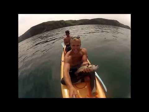 North Devon Kayak Fishing Trip Woolacombe - Lee Bay