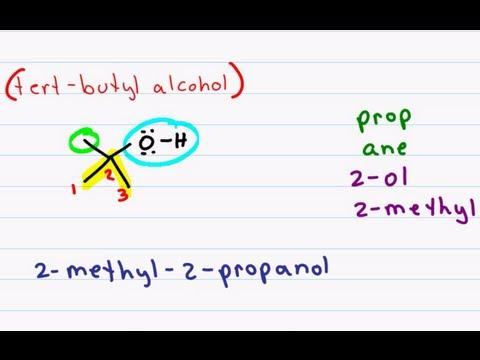 Alcohols (1) - Nomenclature and Properties – Master Organic